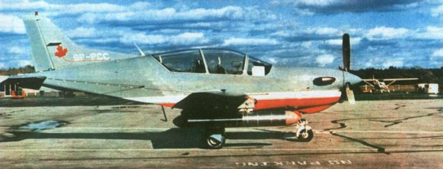 PZL-130 TP nr 004 registration SP-PCC in Canada. 1986. Photo of LAC