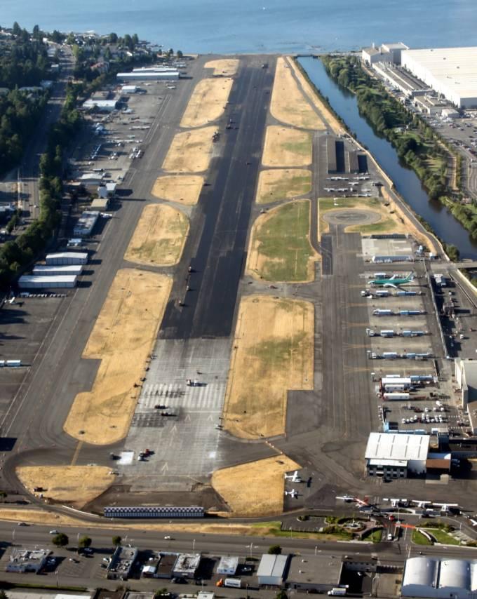 Lotnisko w Renton. 2011r.