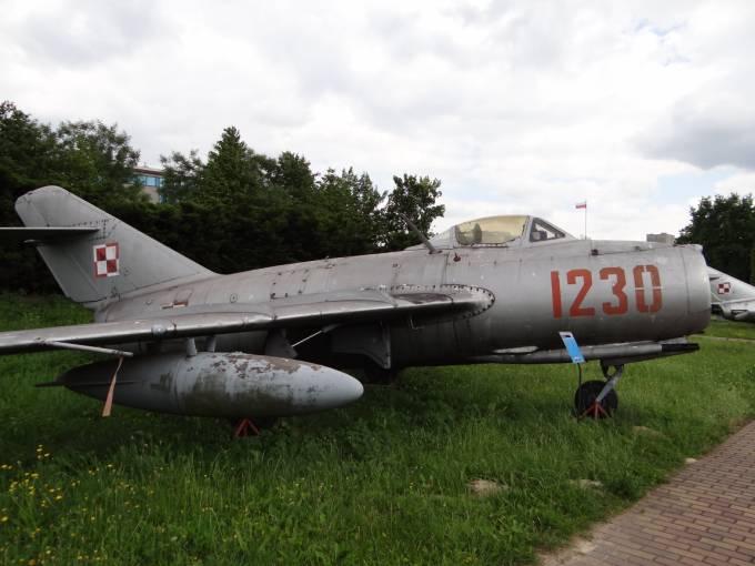 Lim-2 nb 1230 Muzeum Lotnictwa Polskiego Czyżyny. 2012r.