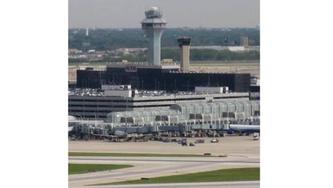 Lotnisko O'Hare 2010r. Zdjęcie Wikipedia