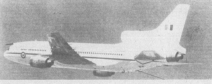 Lockheed-Marshal L-1011 Tristar K Mk.1/2. 1984 rok. Zdjęcie RAF