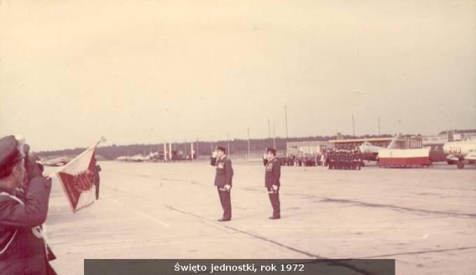 Obchody Święta Jednostki na Lotnisku. 1972r.