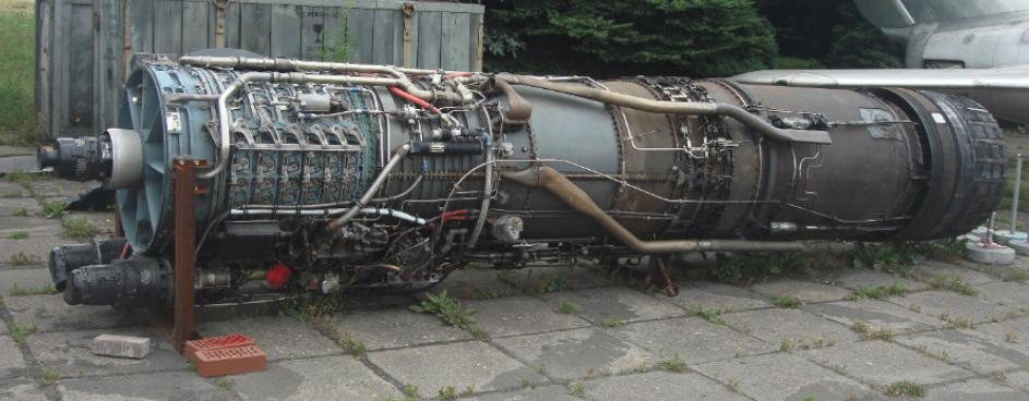 Silnik General Electric J79-GE-11A. 2011 rok. Zdjęcie Karol Placha Hetman