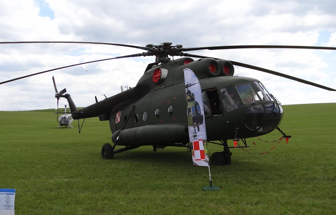 Śmigłowiec Mil Mi-8 T nb 638. Brał udział w wojnie w Iraku. 2015 rok. Zdjęcie Karol Placha Hetman
