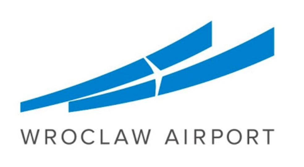 Logo of the Wrocław Airport. Photo by Karol Placha Hetman