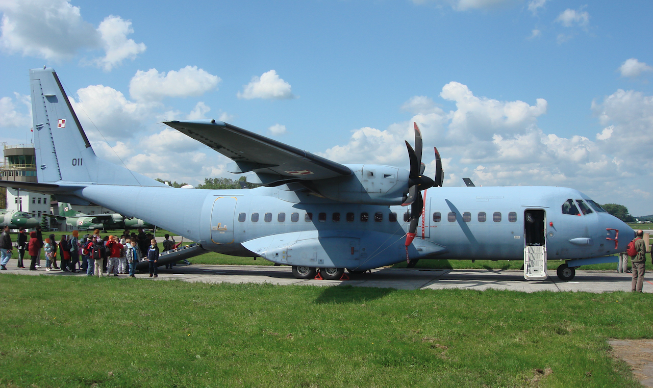CASA C-295 M nb 011. First delivered to Poland. 2009. Photo by Karol Placha Hetman