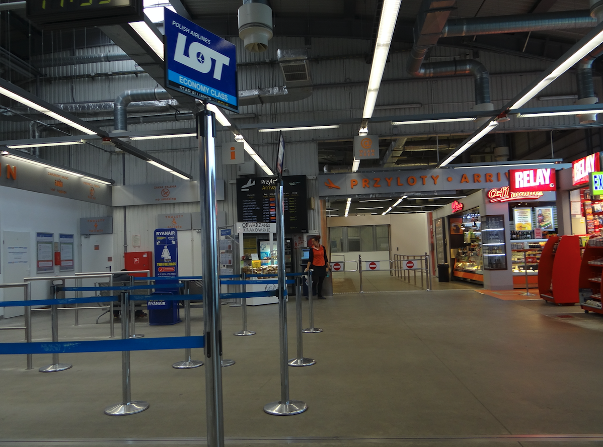 Terminal 2. 2014 rok. Zdjęcie Karol Placha Hetman