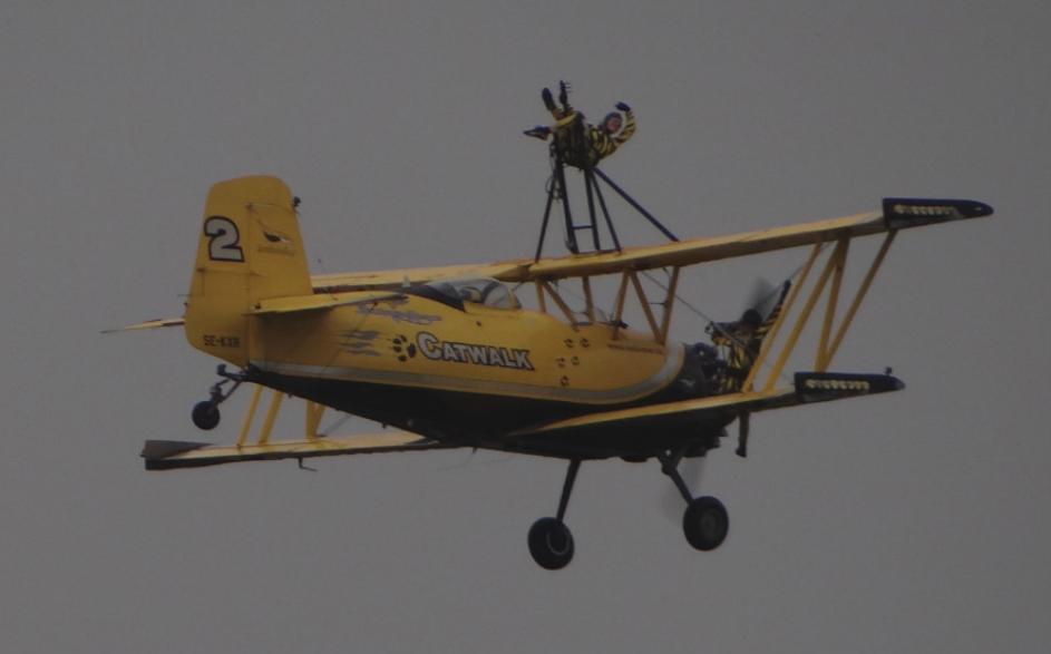 Grumman G-164 Ag-Cat – Wingwalking. 2016 rok. Zdjęcie Karol Placha Hetman