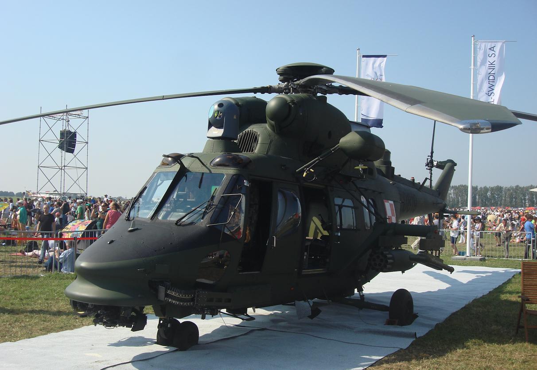 "PZL-Sokół W-3PL ""Głuszec"" nb 0819 nr 360819. 2011 rok. Zdjęcie Karol Placha Hetman"