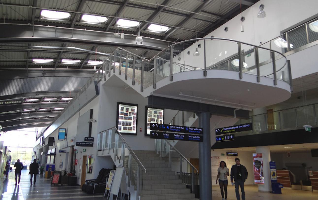 Lodz airport, terminal. 2016 year. Photo by Karol Placha Hetman