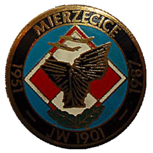 Odznaka pamiątkowa 39. PLM Mierzęcice