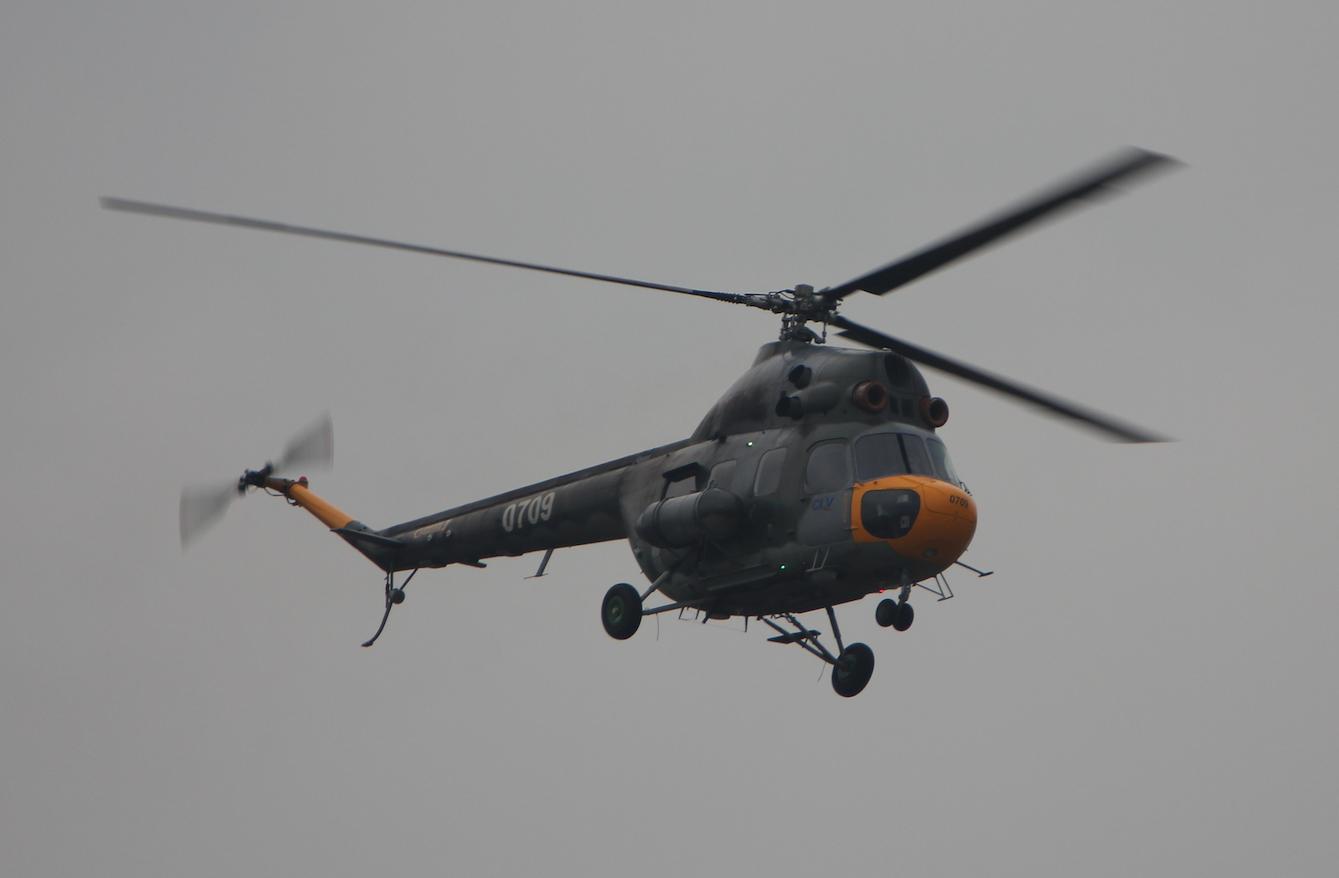 Mi-2. 2017 rok. Zdjęcie Waldemar Kiebzak