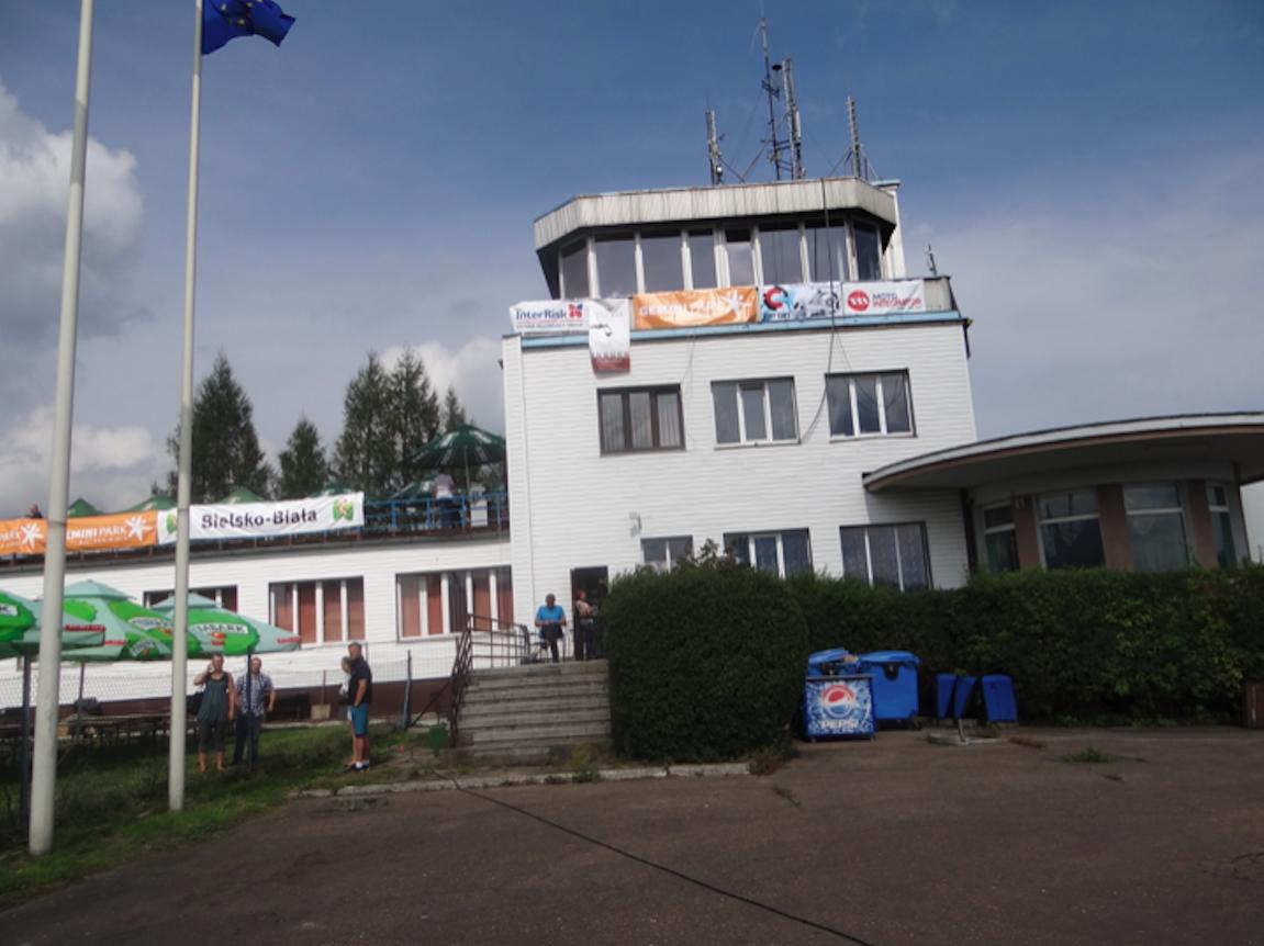 Bielsko-Biała airport. 2014 year. Photo by Karol Placha Hetman