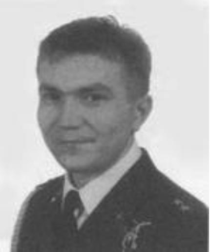 Pilot lieutenant Arkadiusz Madej