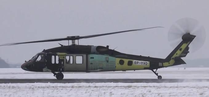 Kolejny Black Hawk SP-YVD oblatany na Lotnisku Mielec. 2012r.