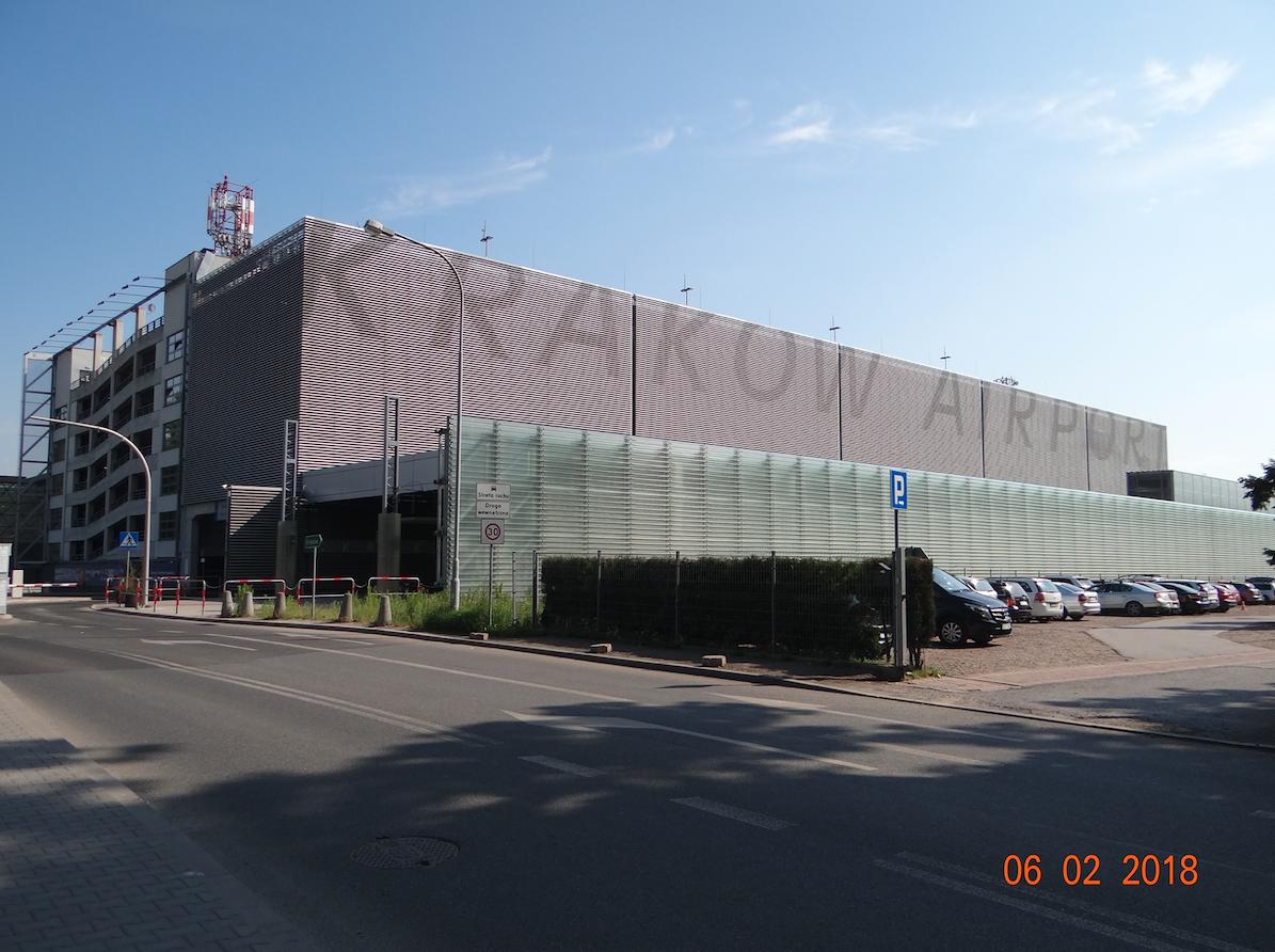Stacja kolejowa Lotnisko. 2018 rok. Zdjęcie Karol Placha Hetman