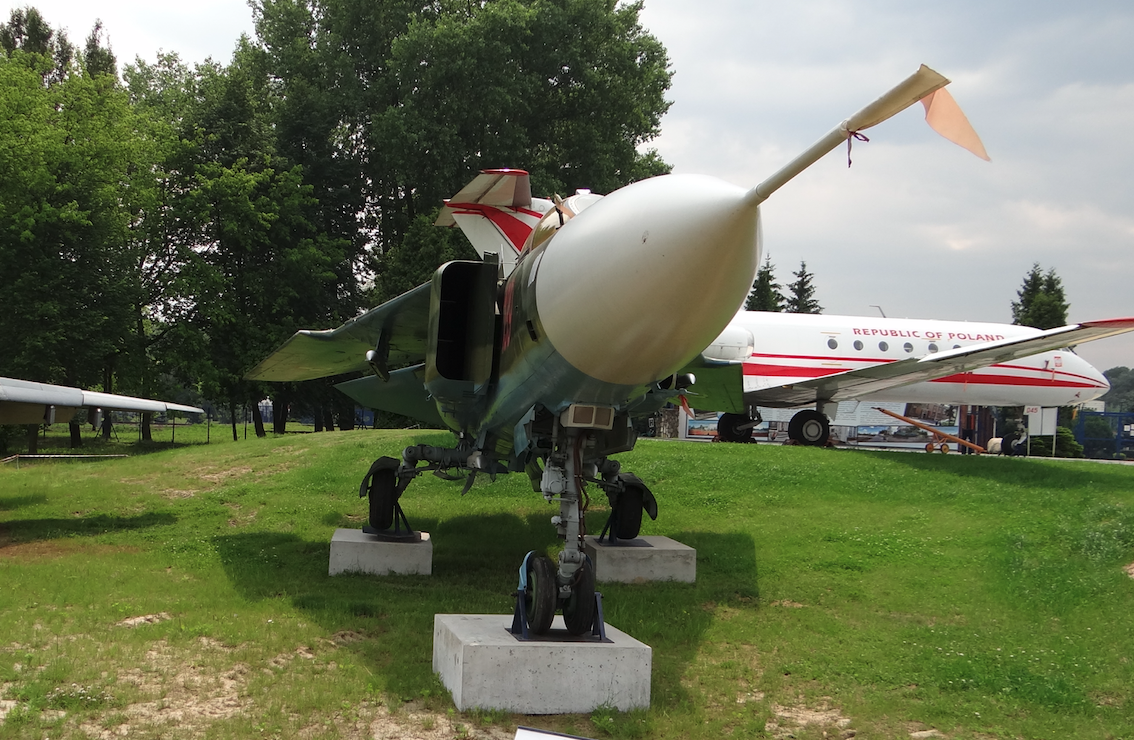 MiG-23 MF nb 139. Dęblin 2017 rok. Zdjęcie Karol Placha Hetman