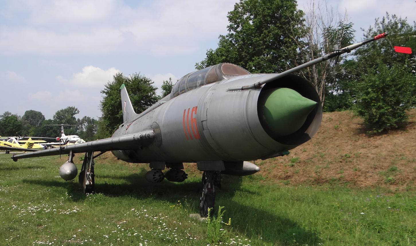 Suchoj Su-7 U nb 116. 2017 year. Photo by Karol Placha Hetman