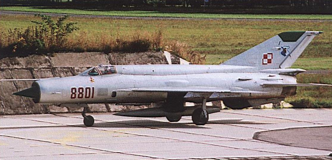 MiG-21 bis nb 8801 Babie Doły 1985. Photo of LAC