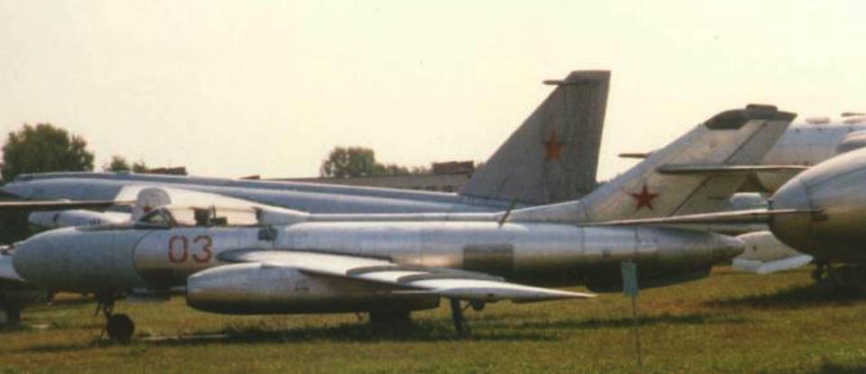 Jak-25 nb 03 w muzeum Monino. 2006 rok. Zdjęcie LAC