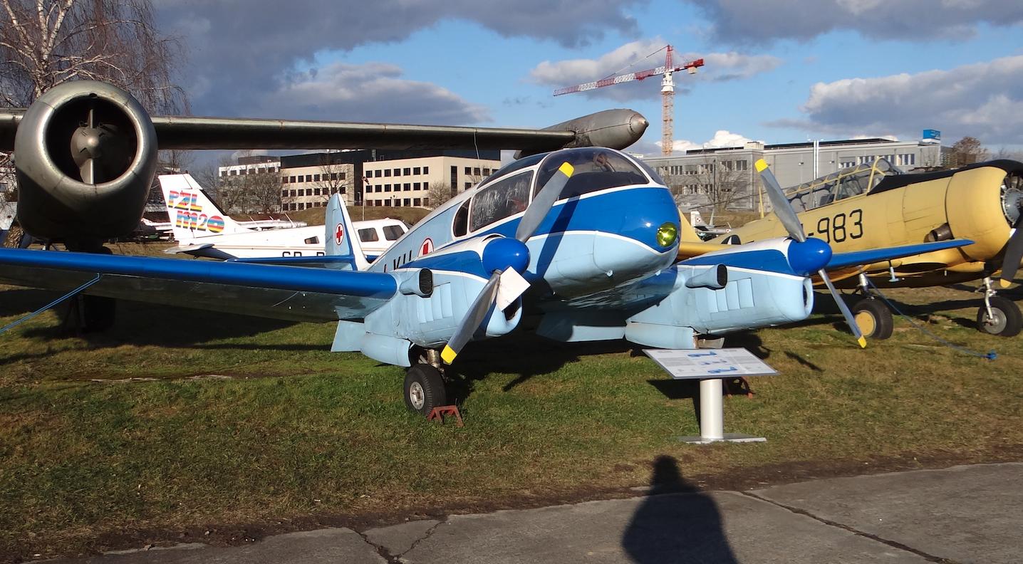 Aero Ae-45 SP-LXH. 2020 rok. Photo by Karol Placha Hetman