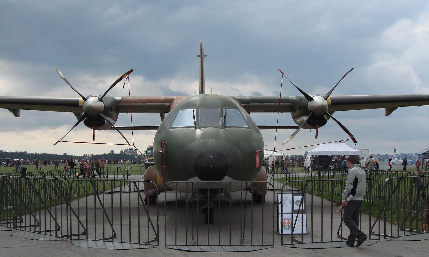 CASA C-235. 2007 rok. Zdjęcie Karol Placha Hetman
