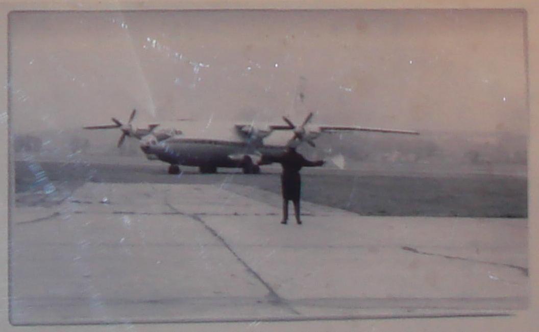 Polski Antonow An-12. Balice 1966 rok. Zdjęcie 55 Pułk Lotnictwa Transportowego