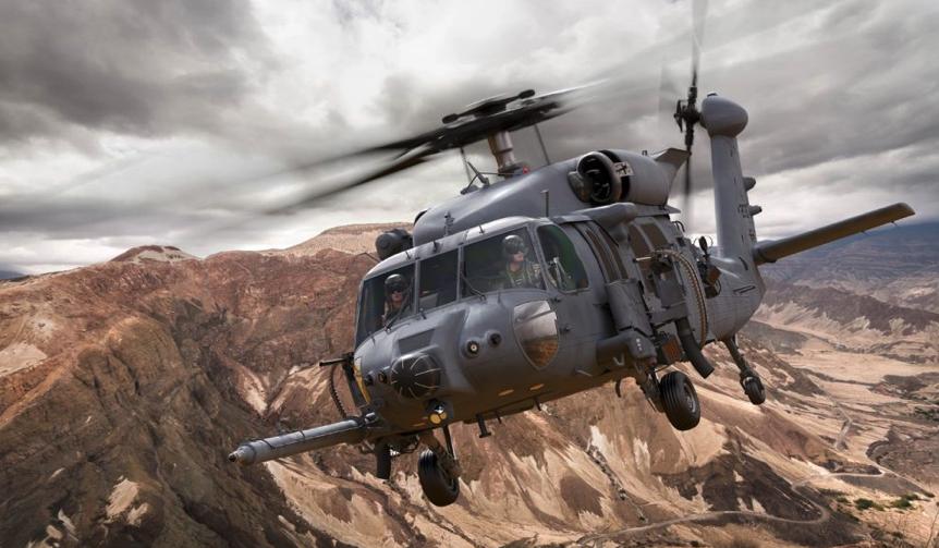 Black Hawk HH-60W. Photo by Lockheed Martin