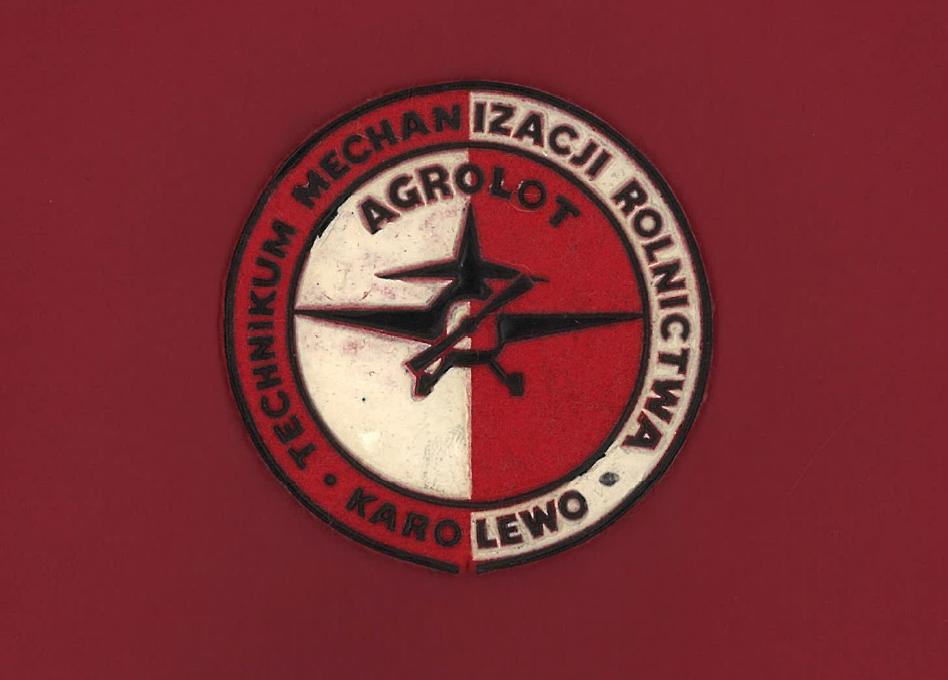 Tarcza Szkoły. 1980 rok. Zdjęcie zbiory prywatne Bogdan Kozłowski