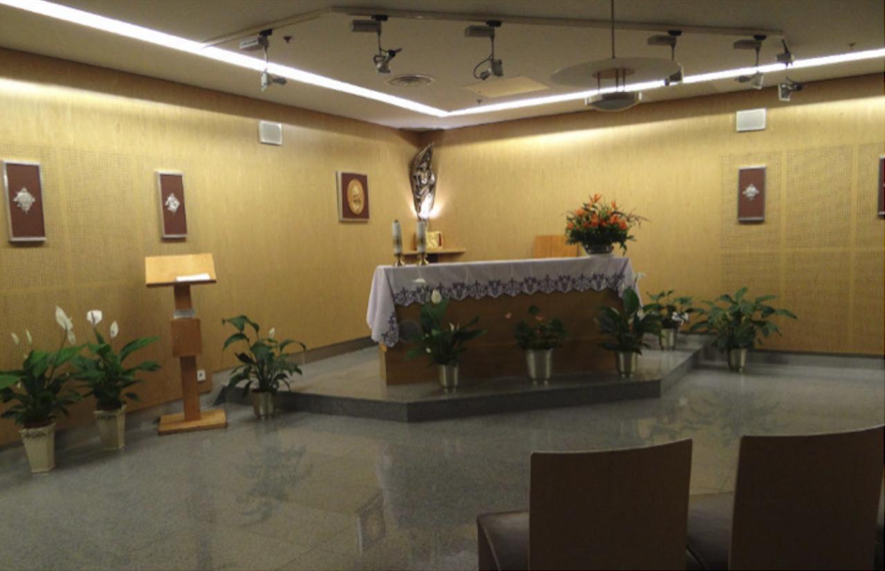 Kaplica na poziomie -1. 2014 rok. Zdjęcie Karol Placha Hetman