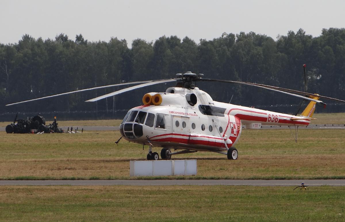 Śmigłowiec Rządowy 1. Baza Lotnicza Mil Mi-8 T nb 636. 2015 rok. Zdjęcie Karol Placha Hetman