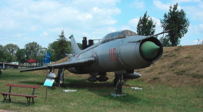 Su-7 U nb 116. Czyżyny 2009. Photo by Karol Placha Hetman