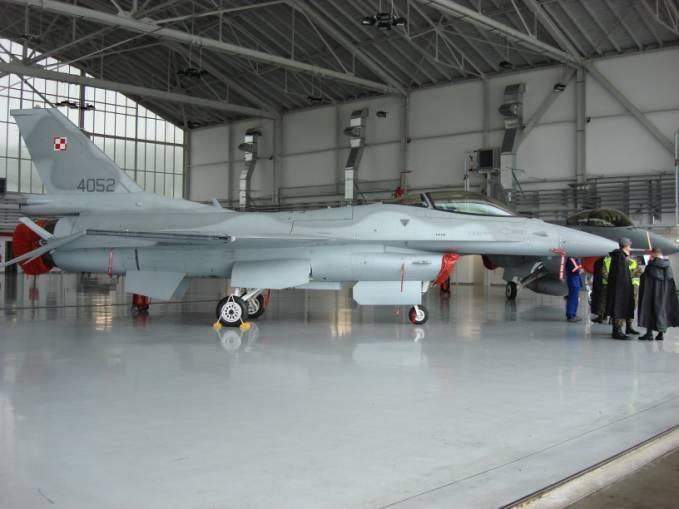 F-16 C nb 4052 w dniu 26.06.2007r. Zdjęcie Karol Placha Hetman