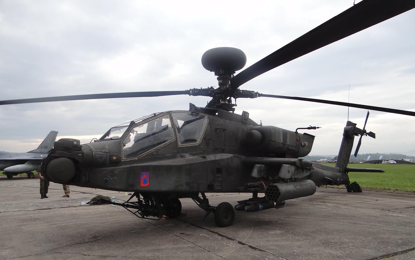 AH-64D Apache. 2016 rok. Zdjęcie Karol Placha Hetman