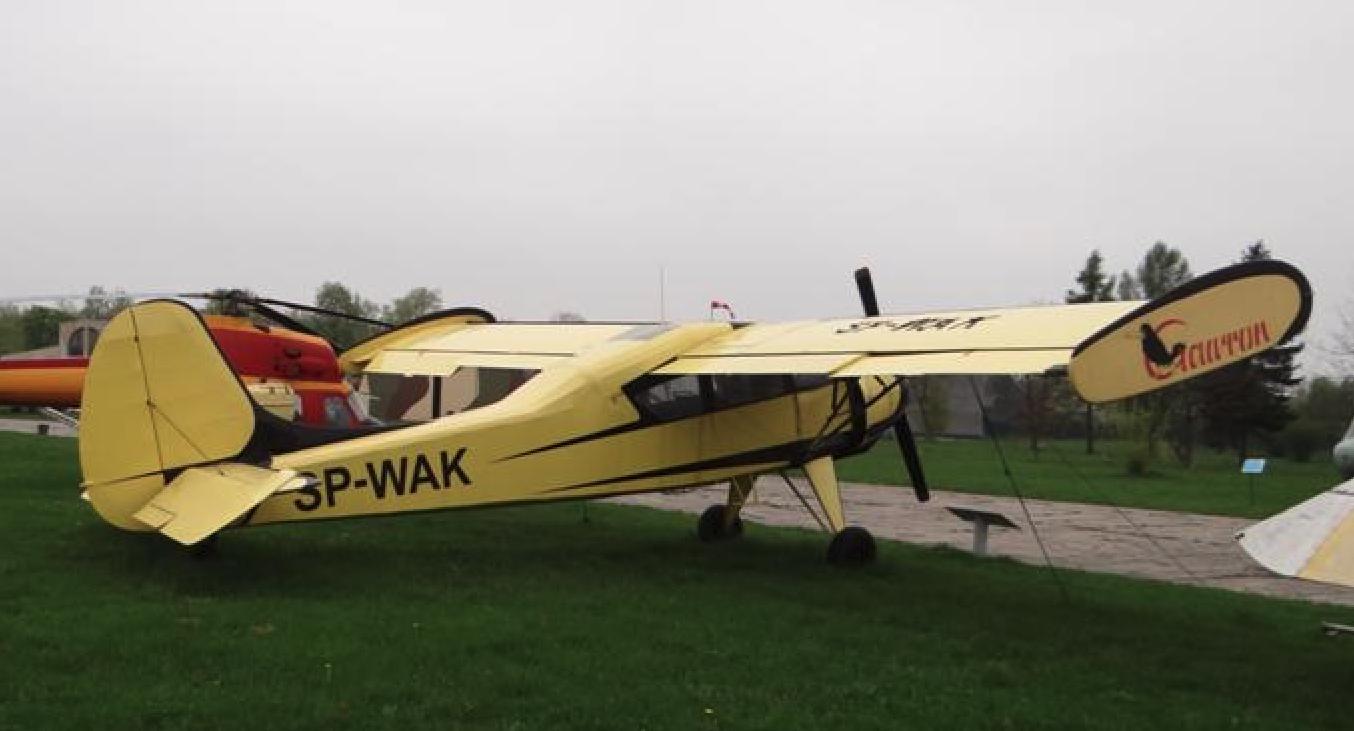 PZL-101 Gawron nr 63119 rejestracja SP-WAK. 2013 rok. Zdjęcie Karol Placha Hetman