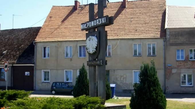 Pomnik Mieczy Grunwaldzkich w Miroisławcu. 2008r.
