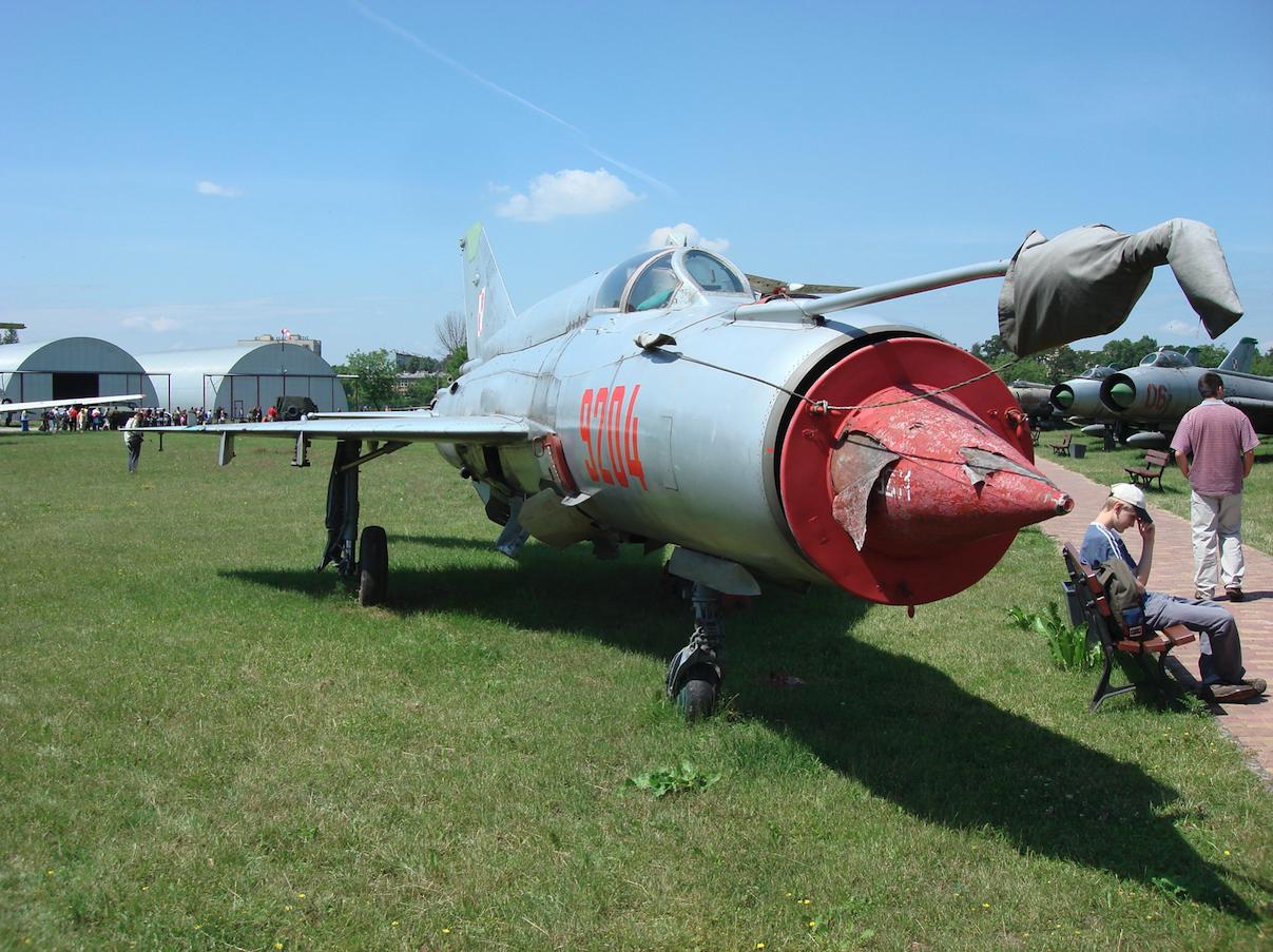 MiG-21 bis nb 9204. Czyżyny 2008 rok. Zdjęcie Karol Placha Hetman
