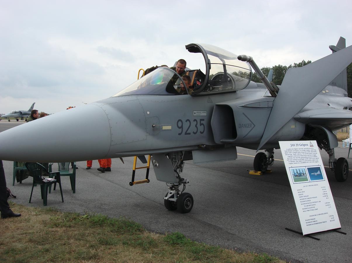 Gripen 39 C nb 9235. Czechy. 2007 rok. Zdjęcie Karol Placha Hetman