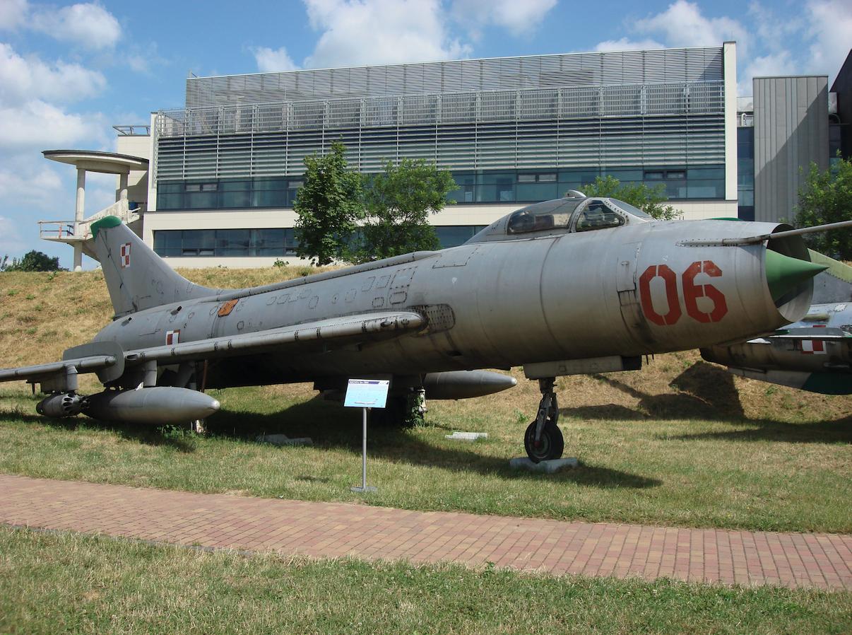 Su-7 BM nb 06 nr 5306. 2008 rok. Zdjęcie Karol Placha Hetman