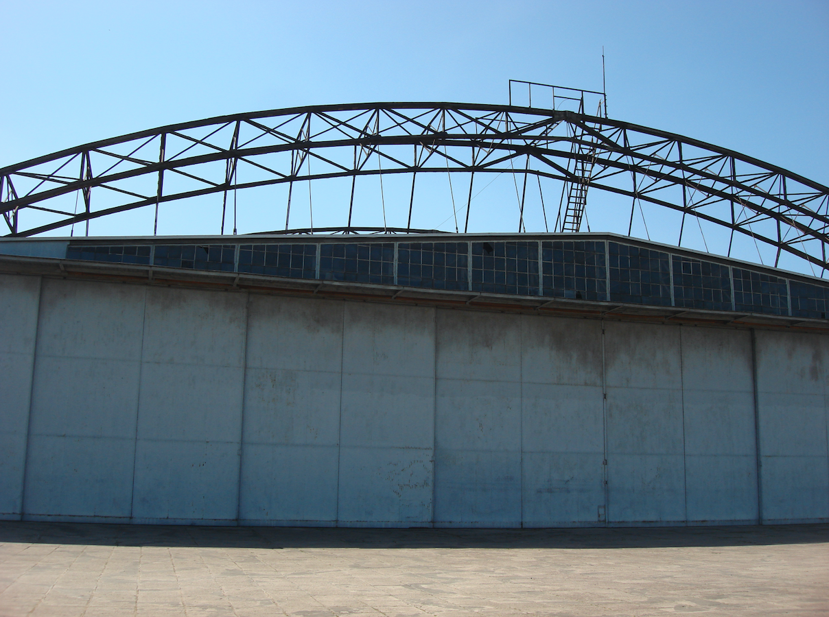 Hangar of the Polish Aviation Museum. Czyżyny 2009. Photo by Karol Placha Hetman