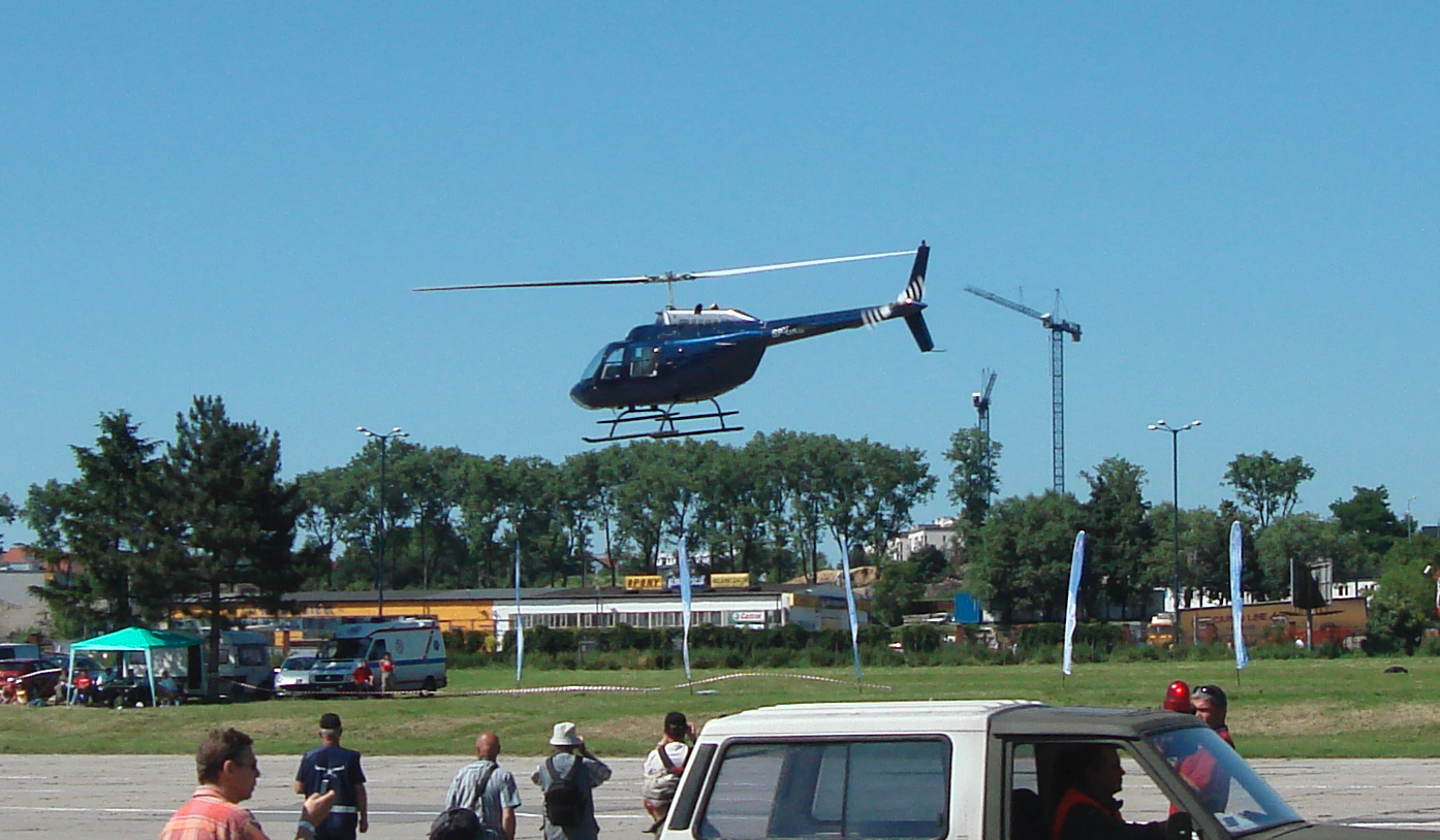 Bell 206 Jet Ranger. 2010 year. Photo by Karol Placha Hetman
