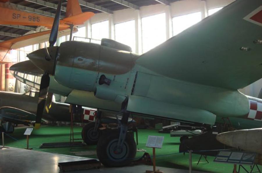 Tu-2 Muzeum Lotnictwa Polskiego Czyżyny 2008 rok. Zdjęcie Karol Placha Hetman