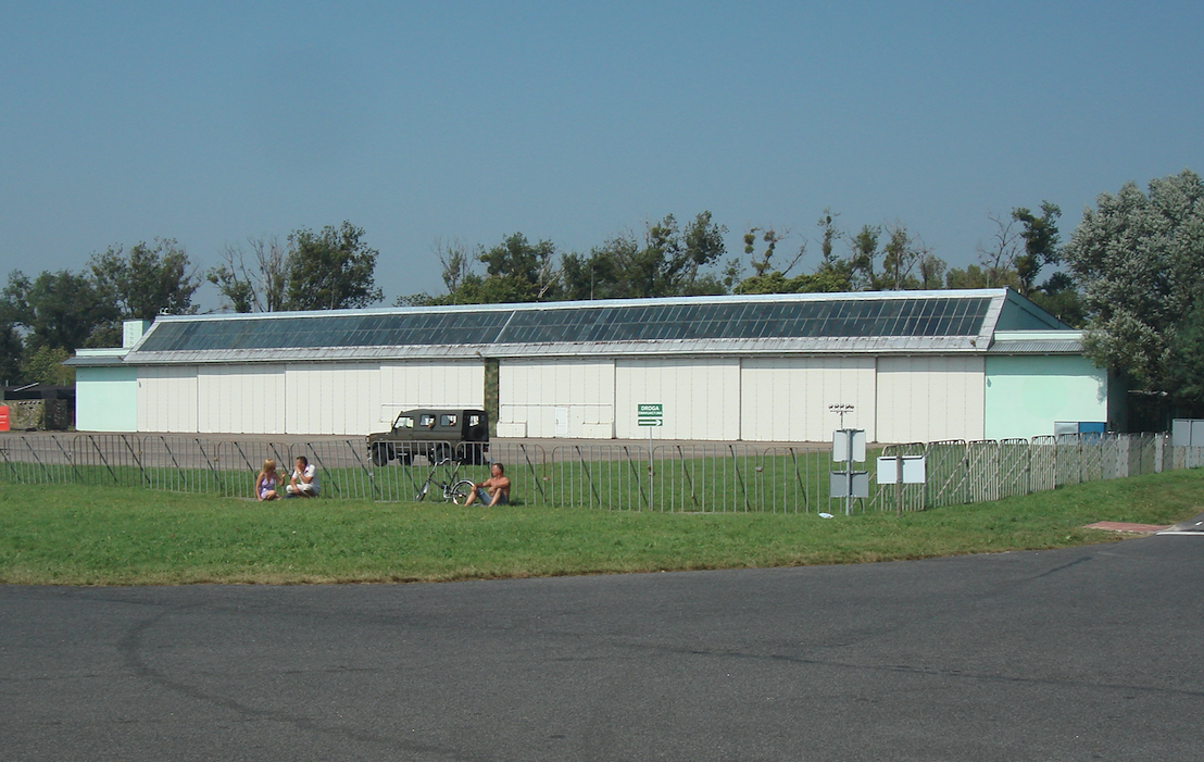 Hangar - Radom Airport 2011. Photo by Karol Placha Hetman
