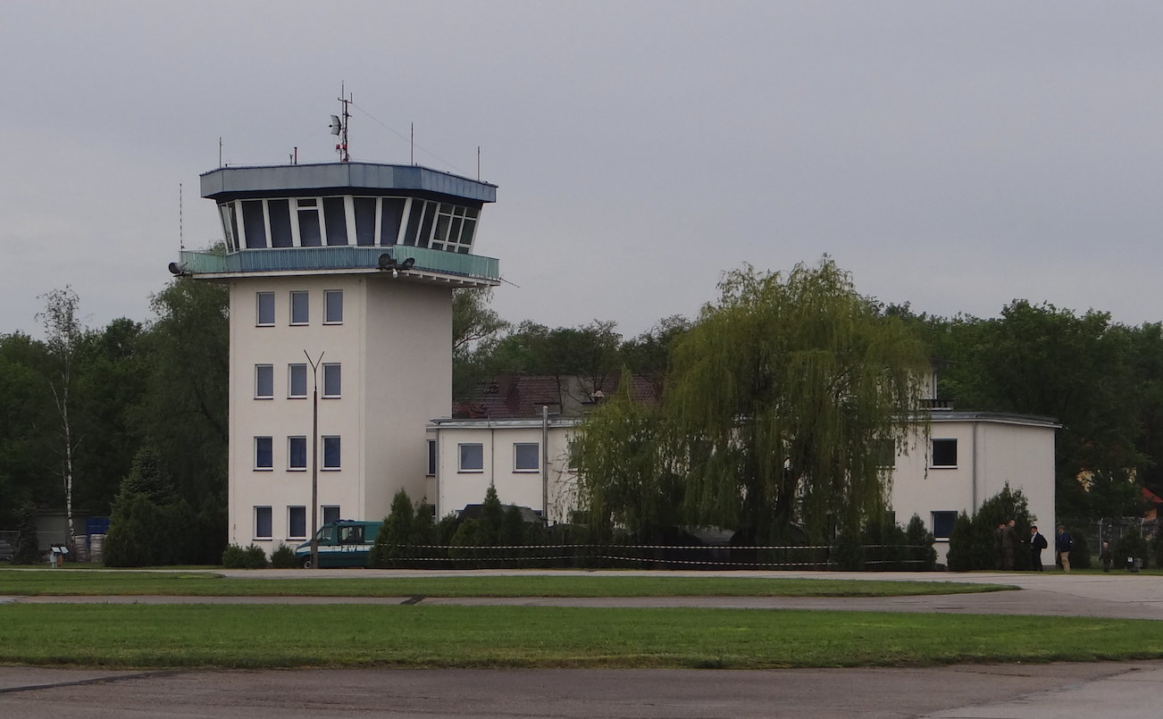 Old flight control tower. 2019. Photo by Karol Placha Hetman