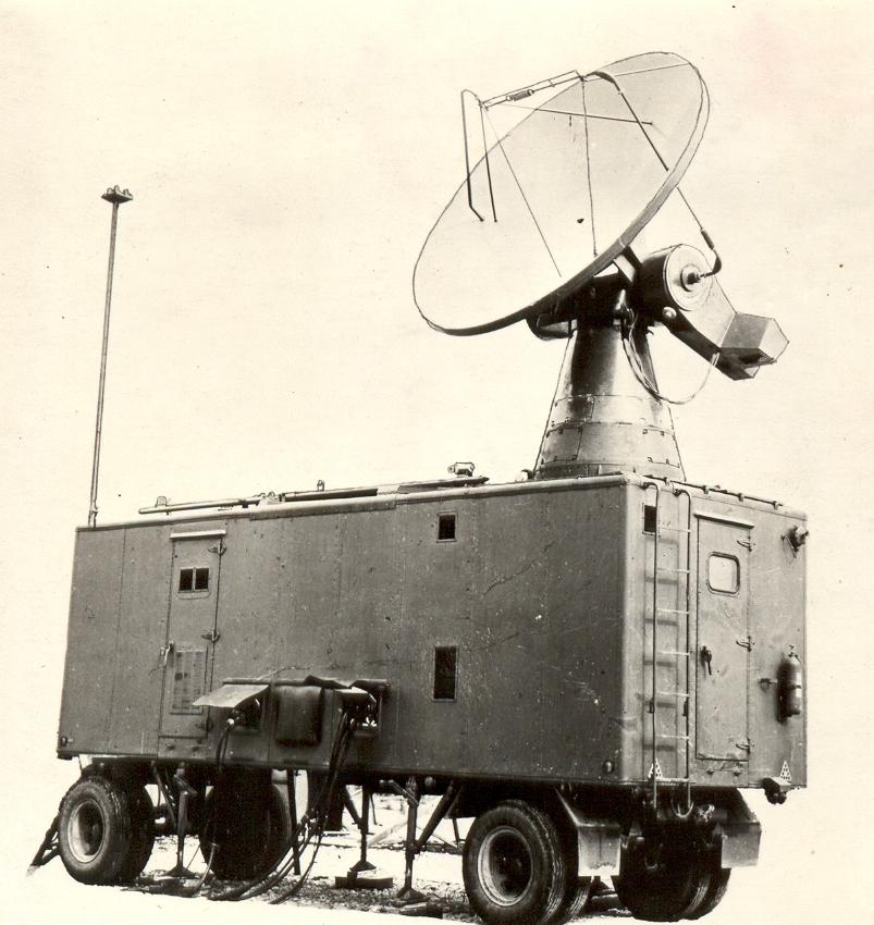 Stacja MRŁ-1G. Zdjęcie z instrukcji