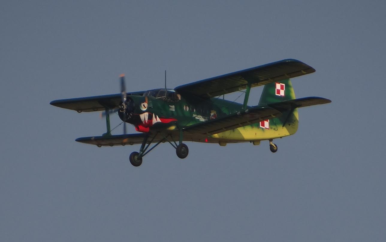 PZL An-2 nb 7447 rejestracja SP-MLP. 2014 rok. Zdjęcie Karol Placha Hetman