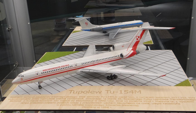 Tu-154 M Lux nb 101. 2021 year. Photo by Karol Placha Hetman