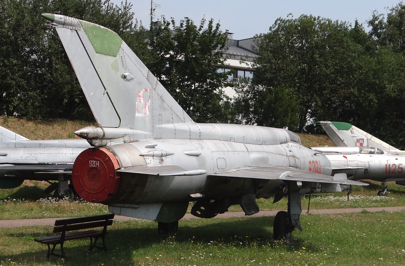 MiG-21 bis nb 9204. 2019 year. Photo by Karol Placha Hetman