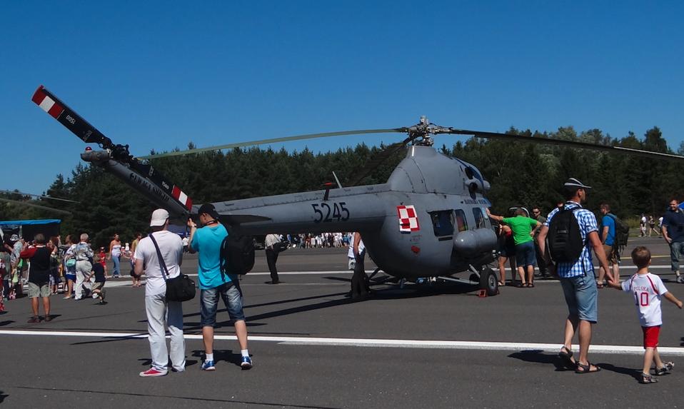 PZL Mi-2 nb 5245 Marynarki Wojennej Rzeczpospolitej. 2014 rok. Zdjęcie Karol Placha Hetman