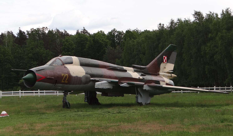 Su-22 nb 22. 2021 rok. Zdjęcie Karol Placha Hetman